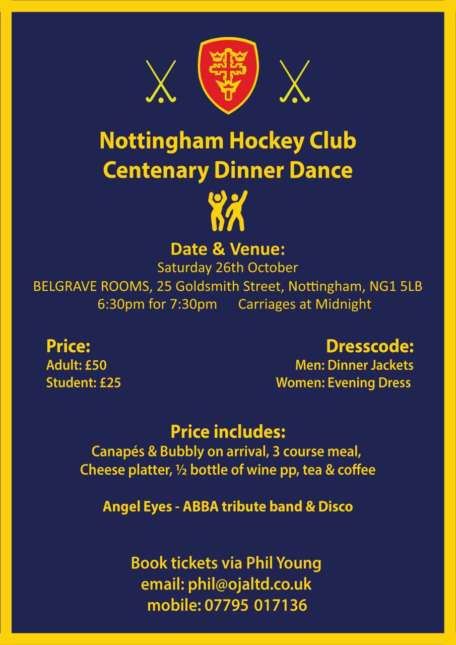 NHC Centenary Dinner